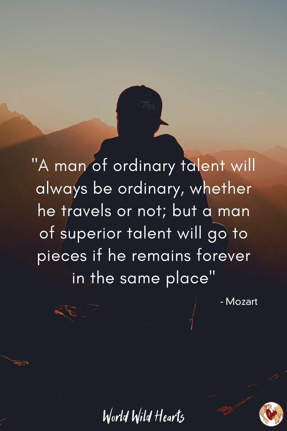 Famous travel quote by musician