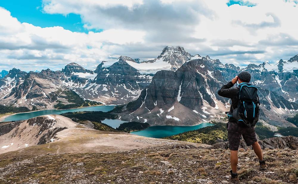 The Nub Peak Lookout in Mount Assiniboine Provincial Park
