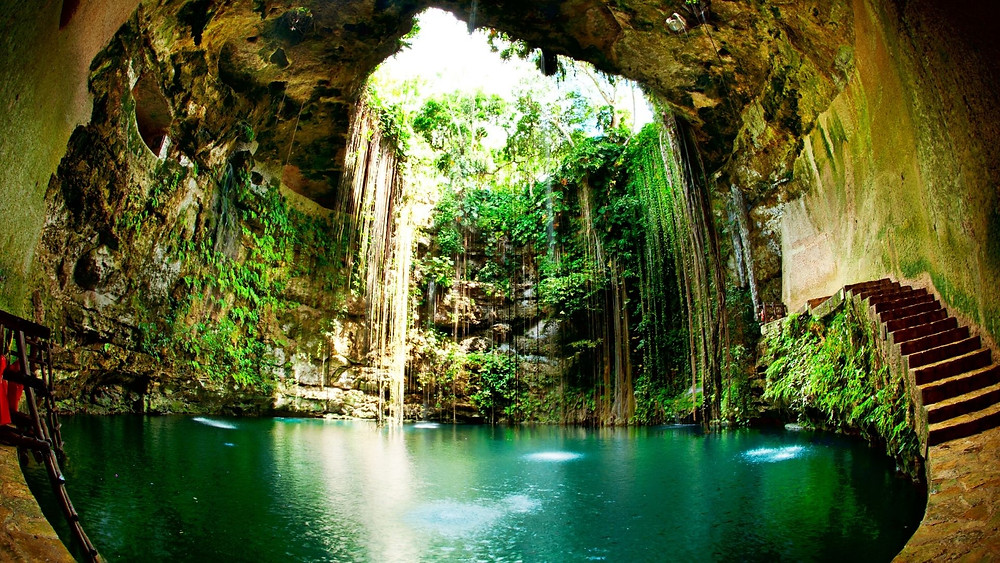 travel bucket list idea to swim in the mexican cenotes
