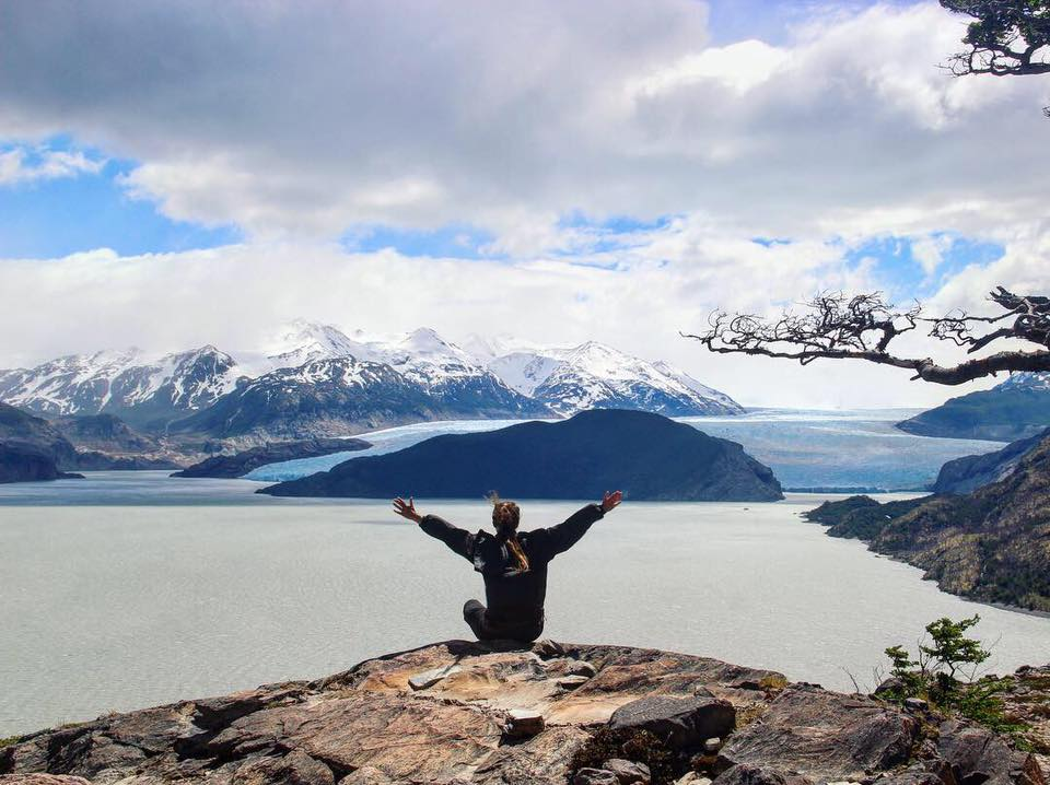 The glaciers in torres del paine is one of the reasons why it is a must-see place in patagonia