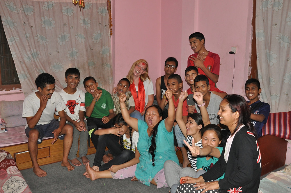 Volunteering in Nepal in an orphanage