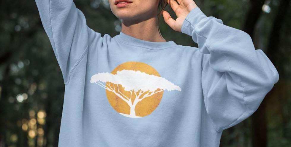 acacia tree sweater