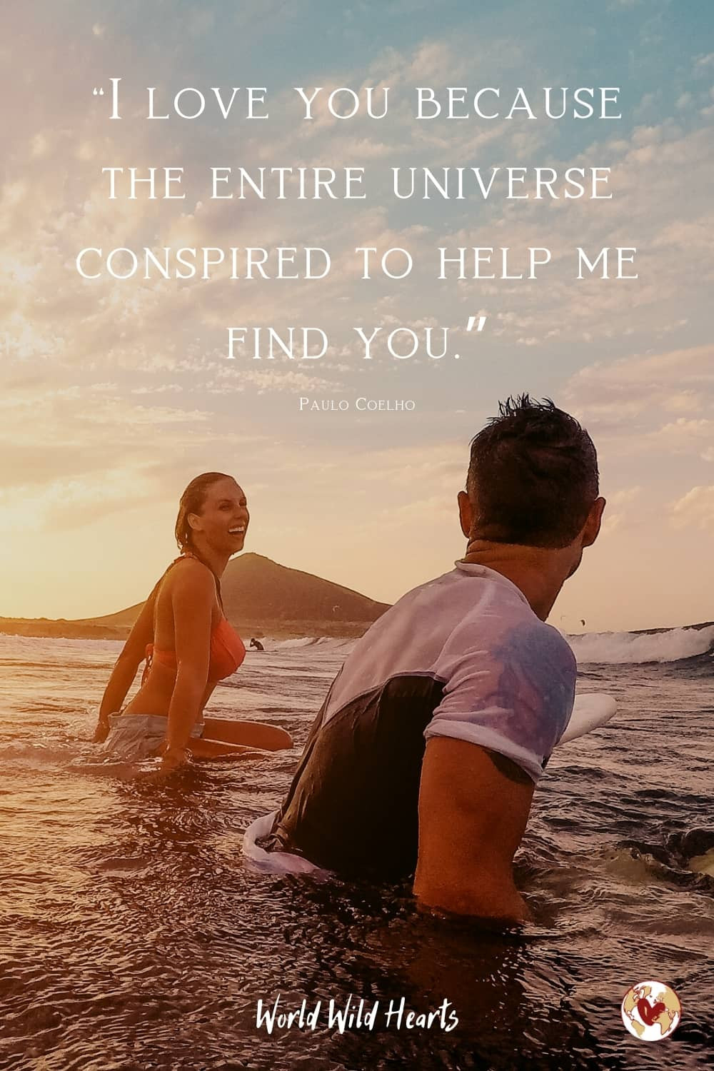 Couples fate travel quote