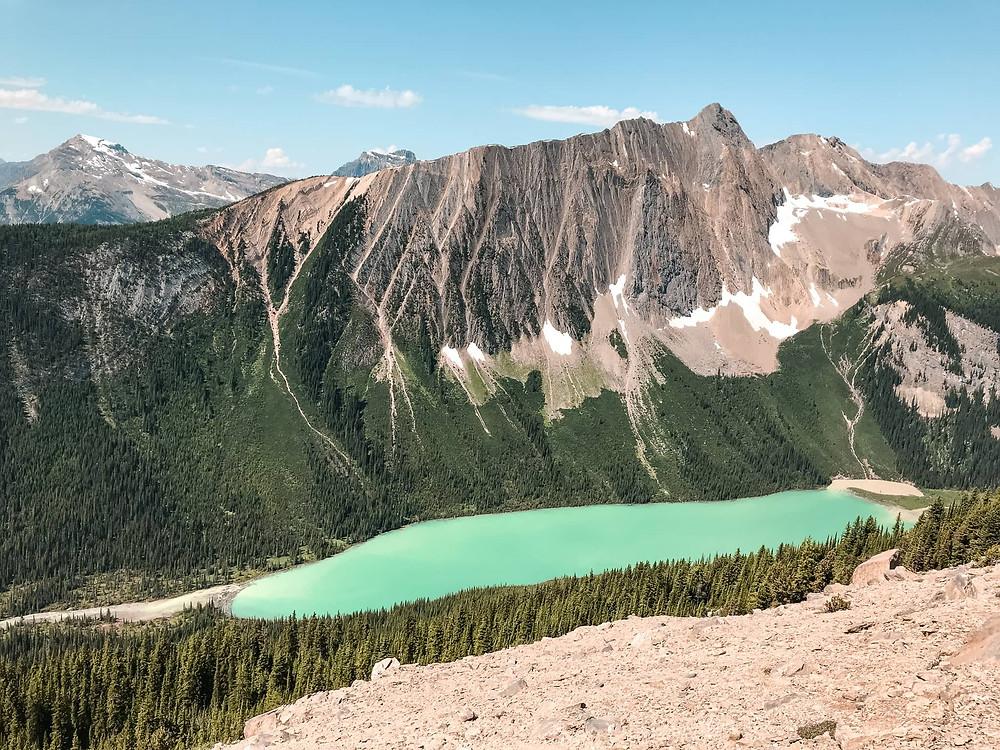 Paget peak hike near banff