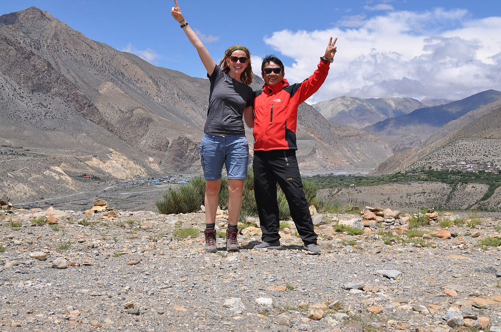 My volunteering in Nepal started off with a trek in the Himalayas