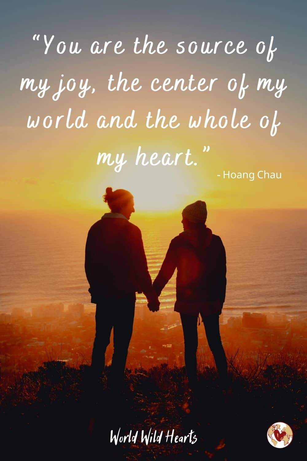 Love travel quote for couples trip