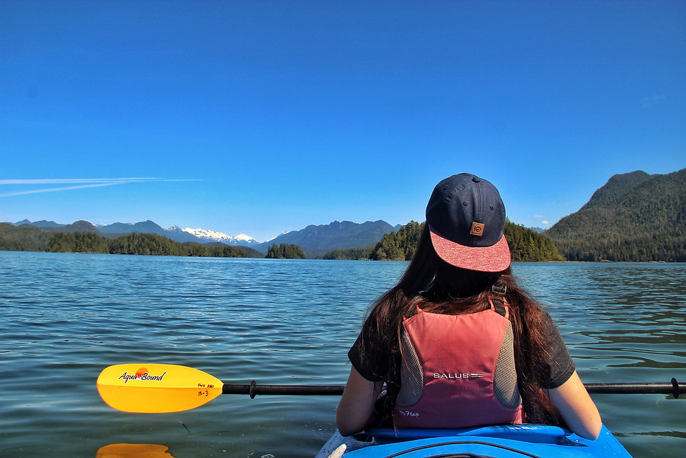 Kayaking is a top thing to do in Tofino
