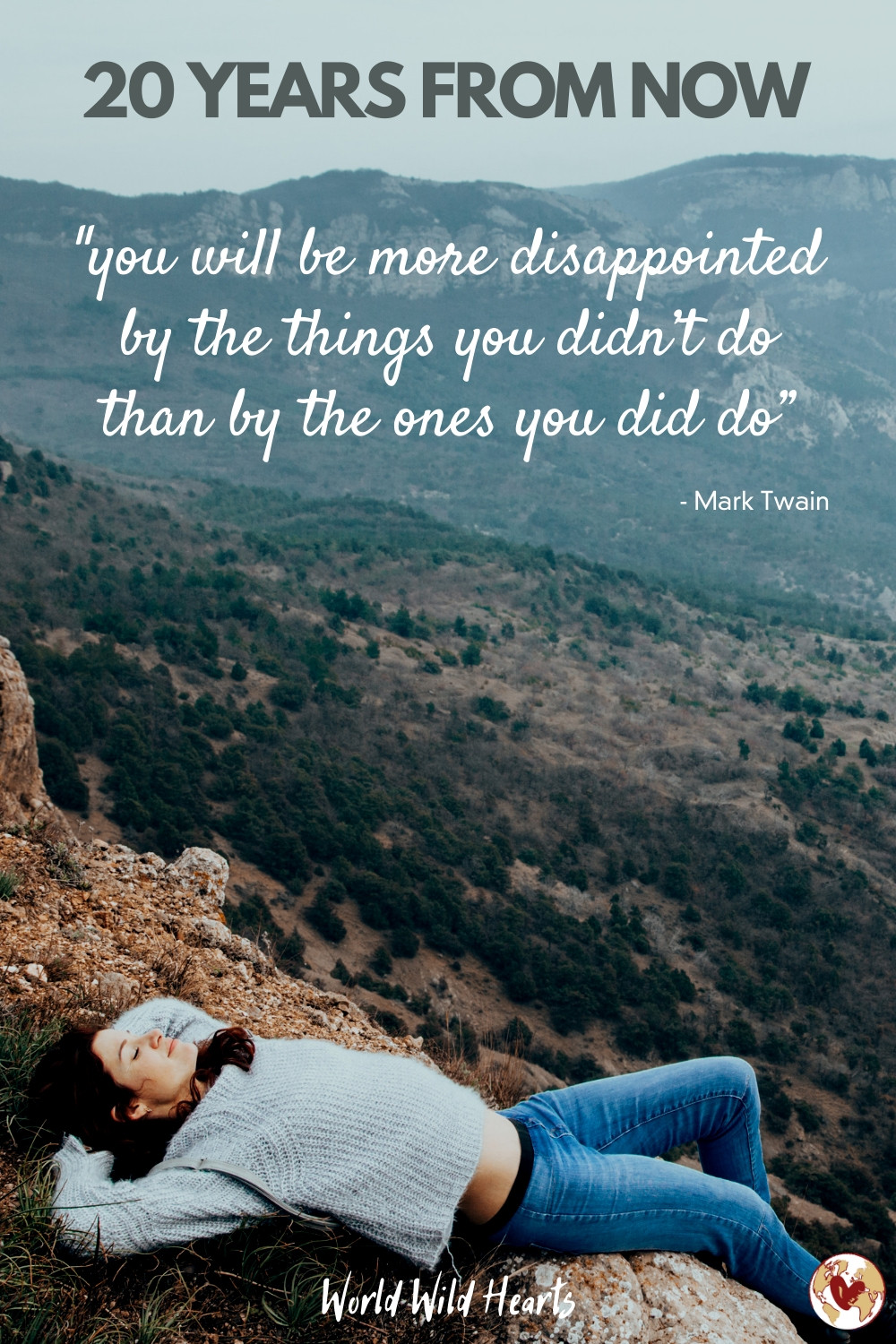 Mark Twain famous travel quote