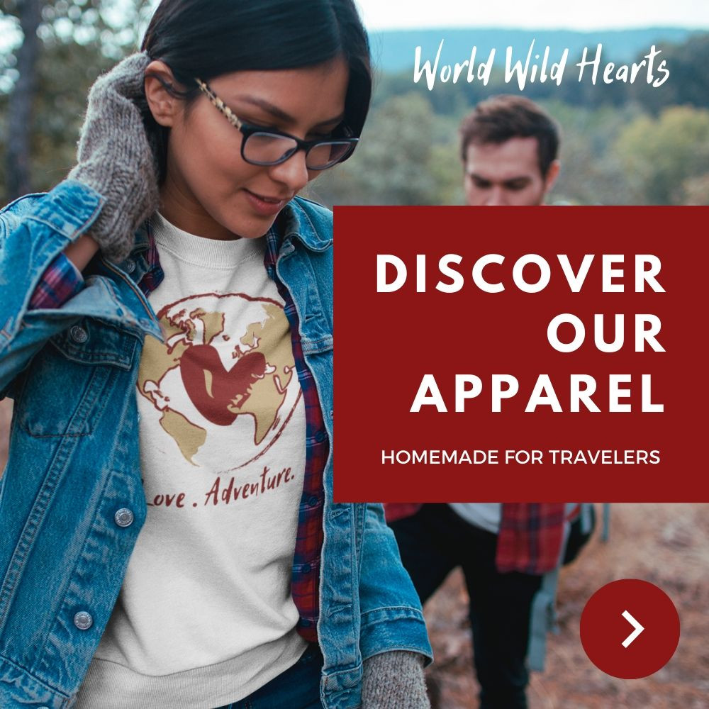 travel-inspired apparel for outdoor adventures