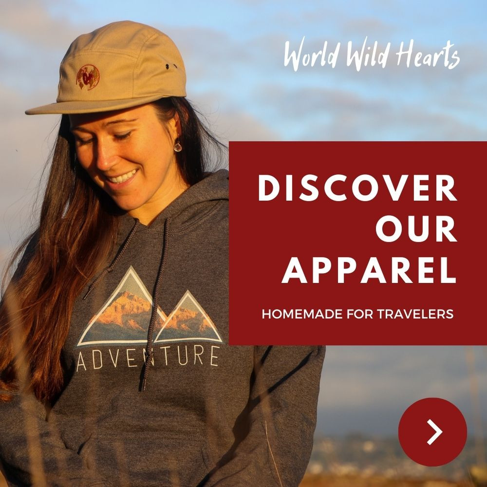 Travel inspiration apparel to blow your mind