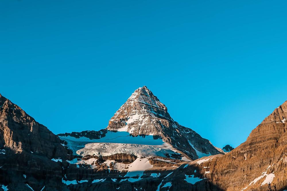 Mount Assiniboine sunrise capture