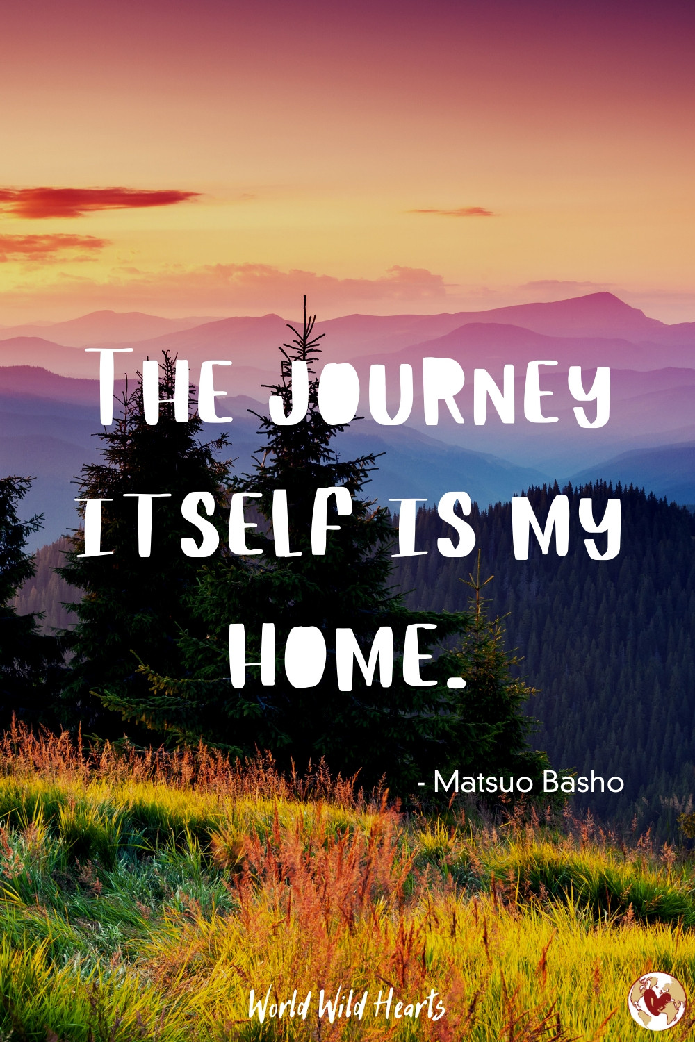 The journey itself is my home quote