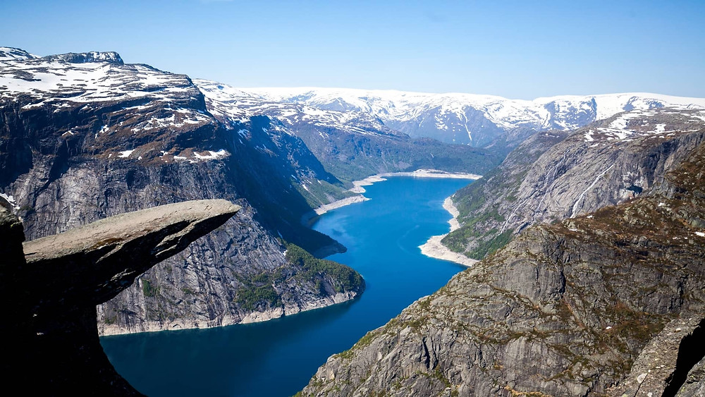 Trolltunga in Norway is one of the world's best hikes
