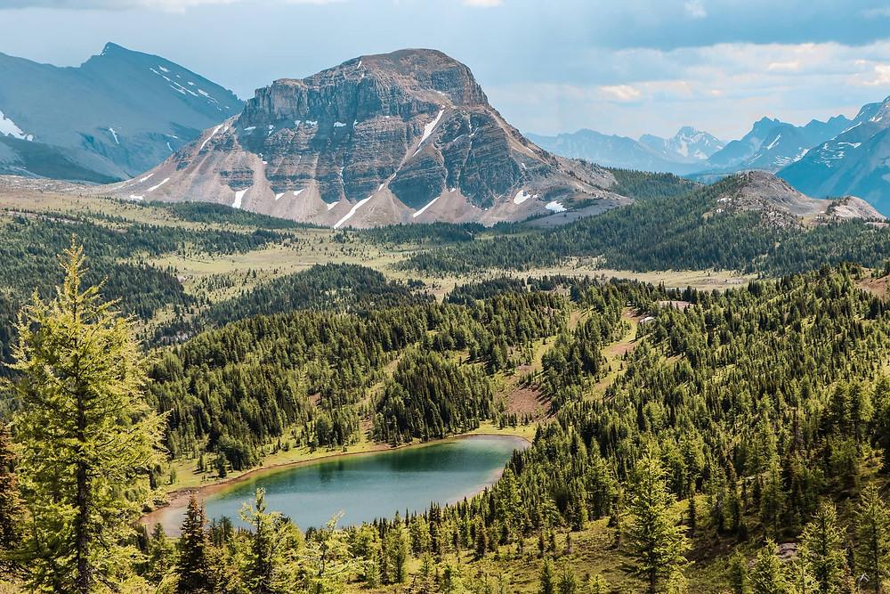 Citadel Pass in Mount Assiniboine Provincial Park