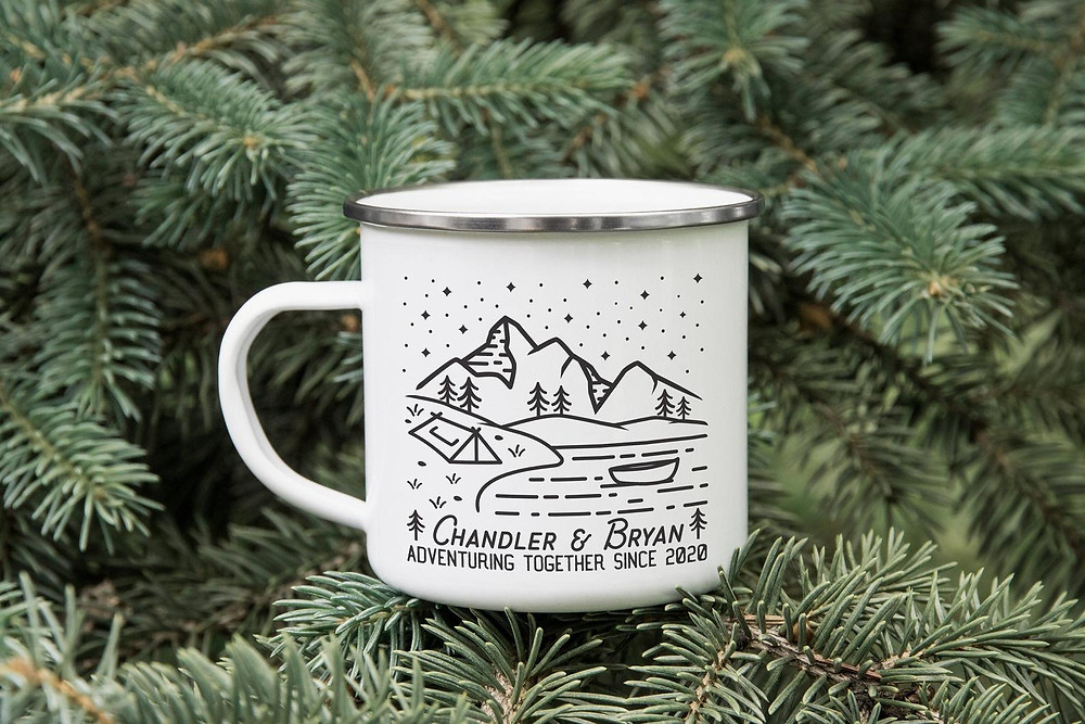 Travel mug for Vashon island nature lovers