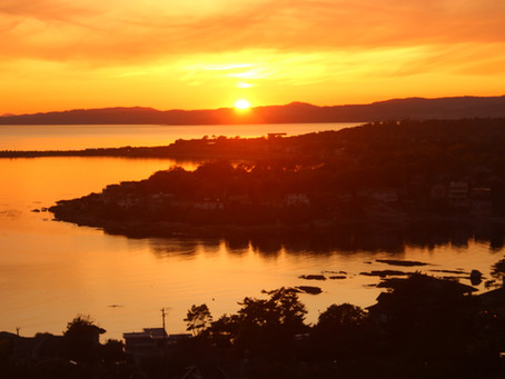 The BEST Sunset Spot in Victoria BC