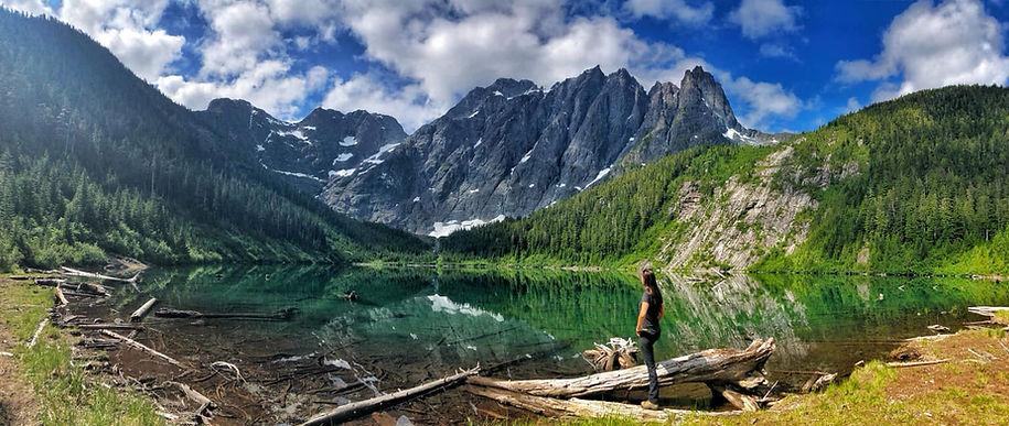 Best hike on Vancover island Landslide Lake