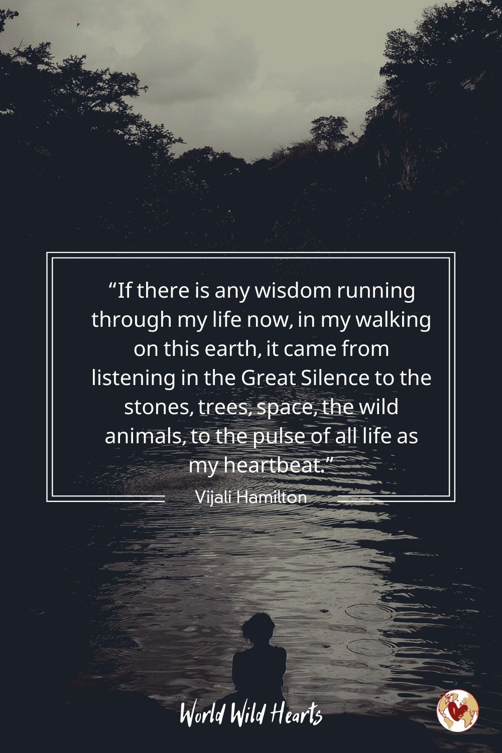 Nature quote on wisdom