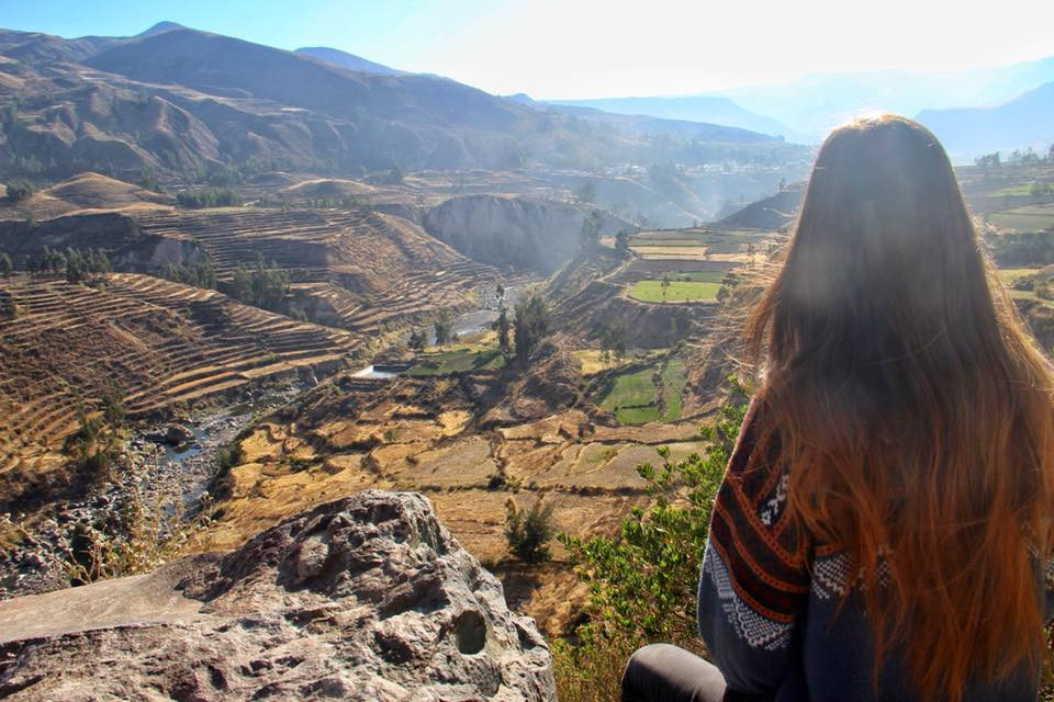 travel to peru and the colca canyon