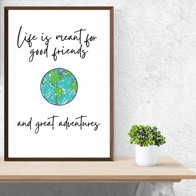 Friends travel quotes for adventures together