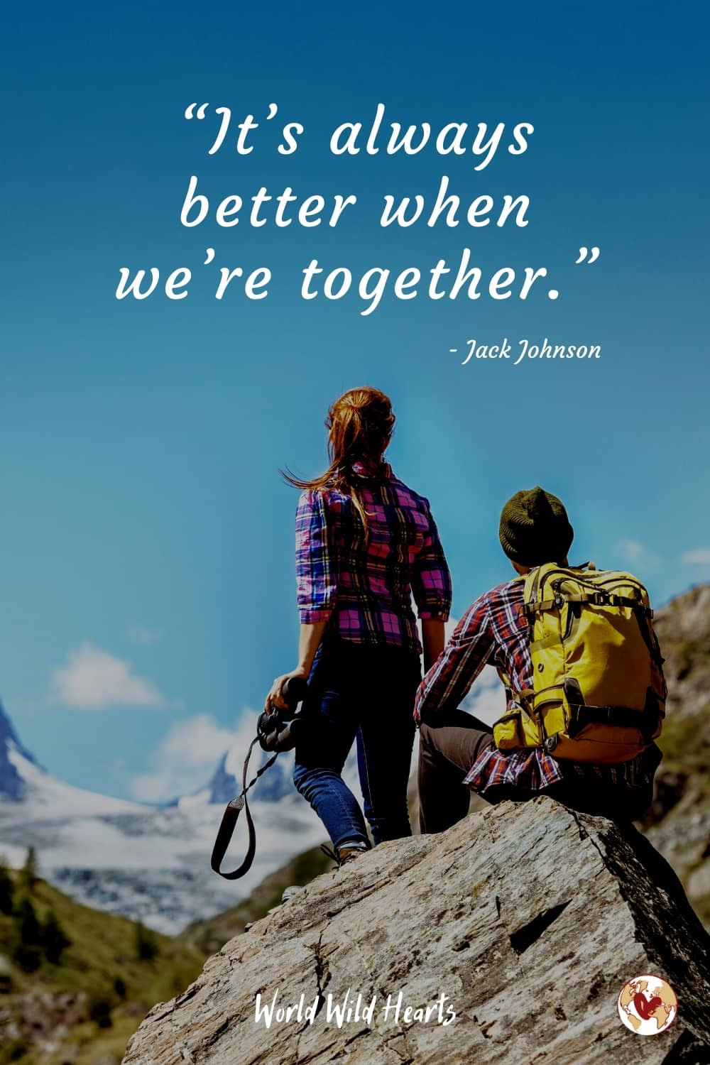 Famous couples travel quote