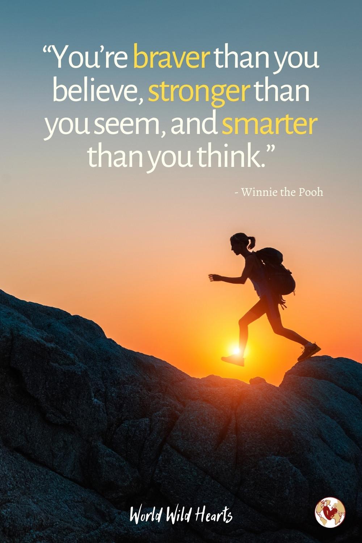 Motivational adventure quote