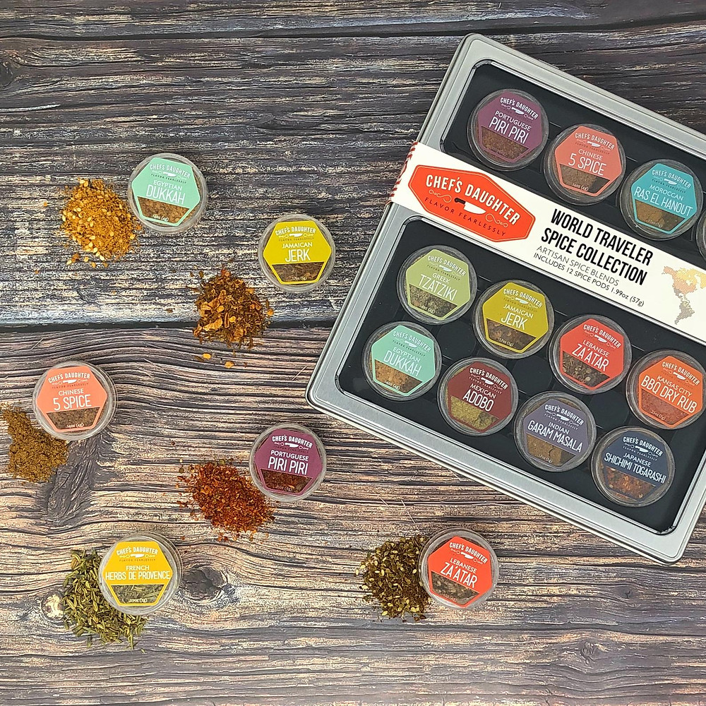 World Traveler Spices to cook and stay healthy while traveling