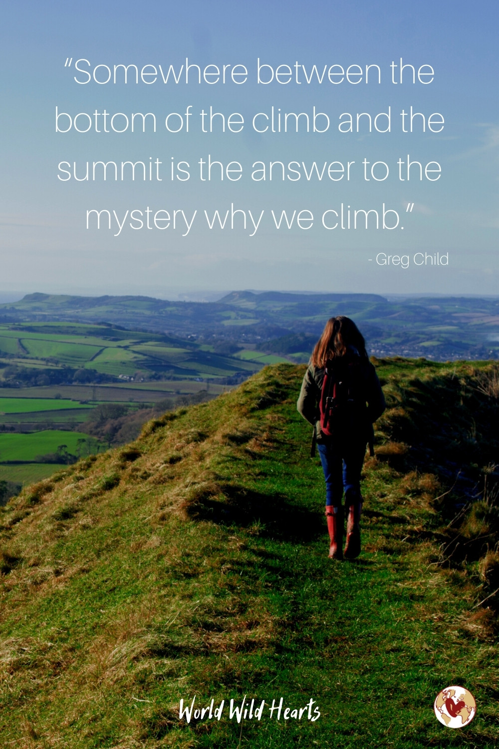 Mountains travel quote