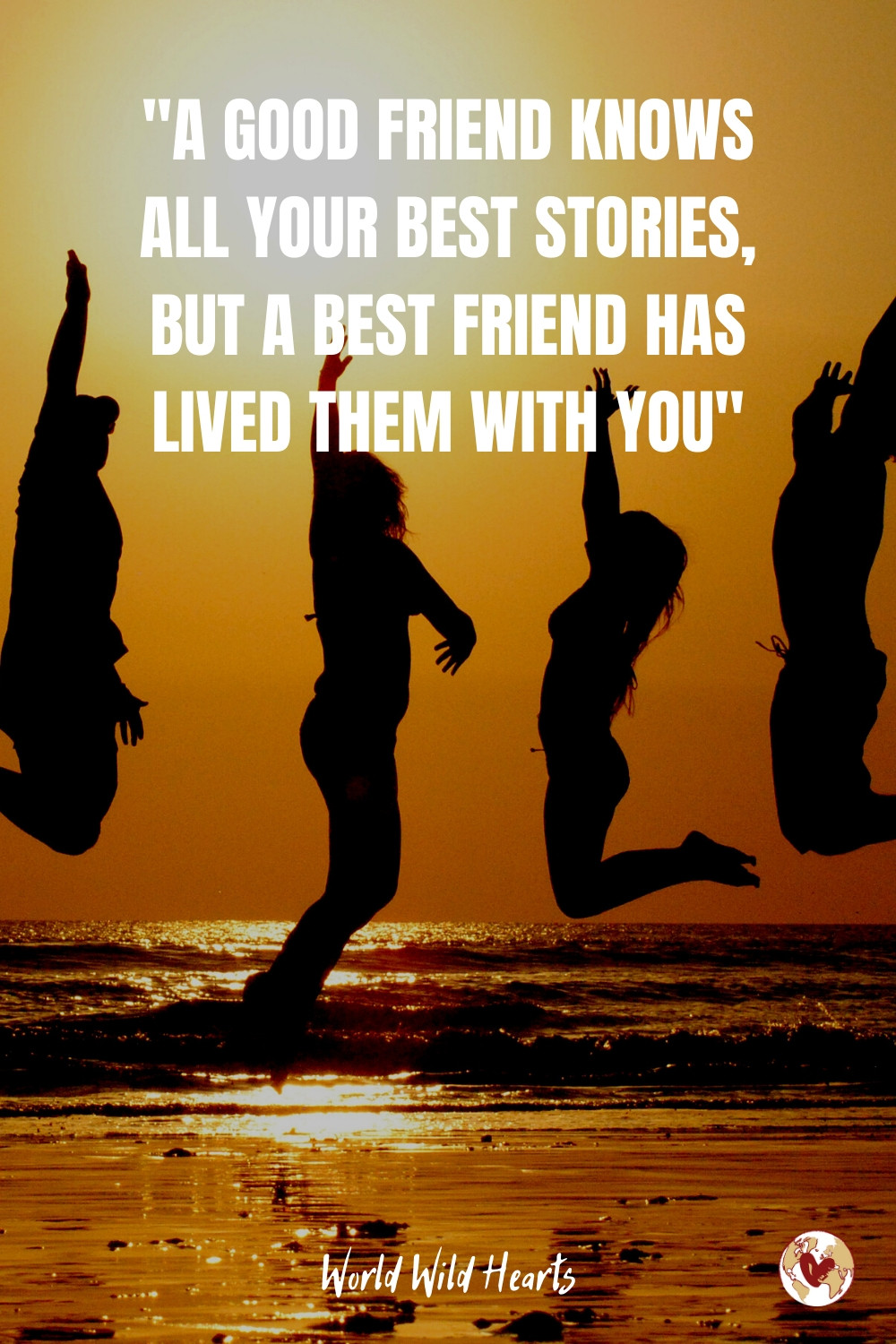 Friend stories travel quote