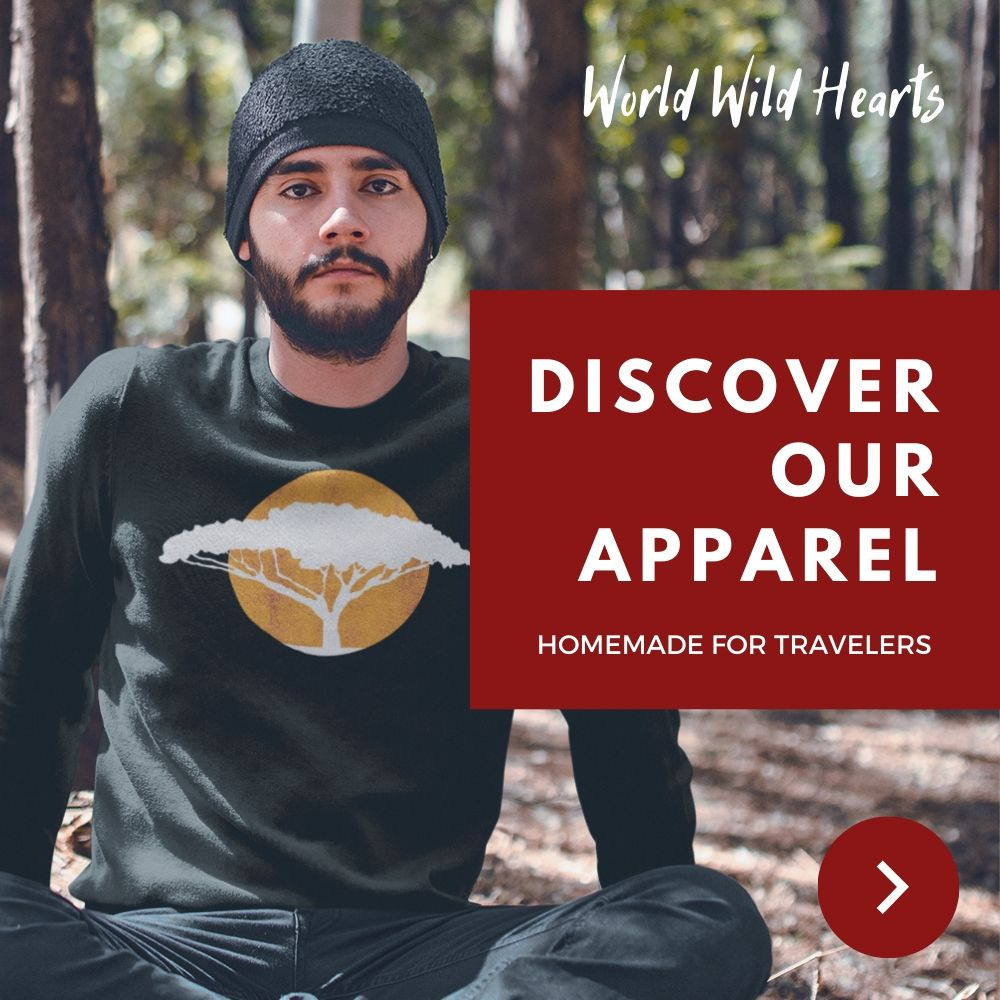 Travel Apparel Shop World Wild Hearts