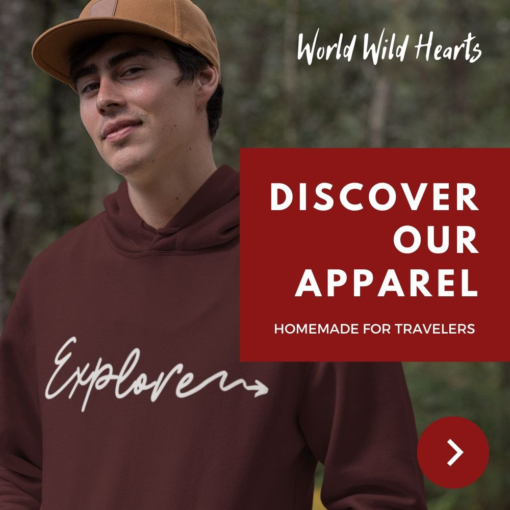 Perfect hoodies for travelers