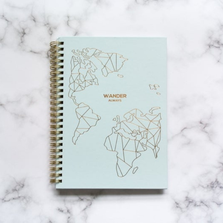 Travel journal holiday gift