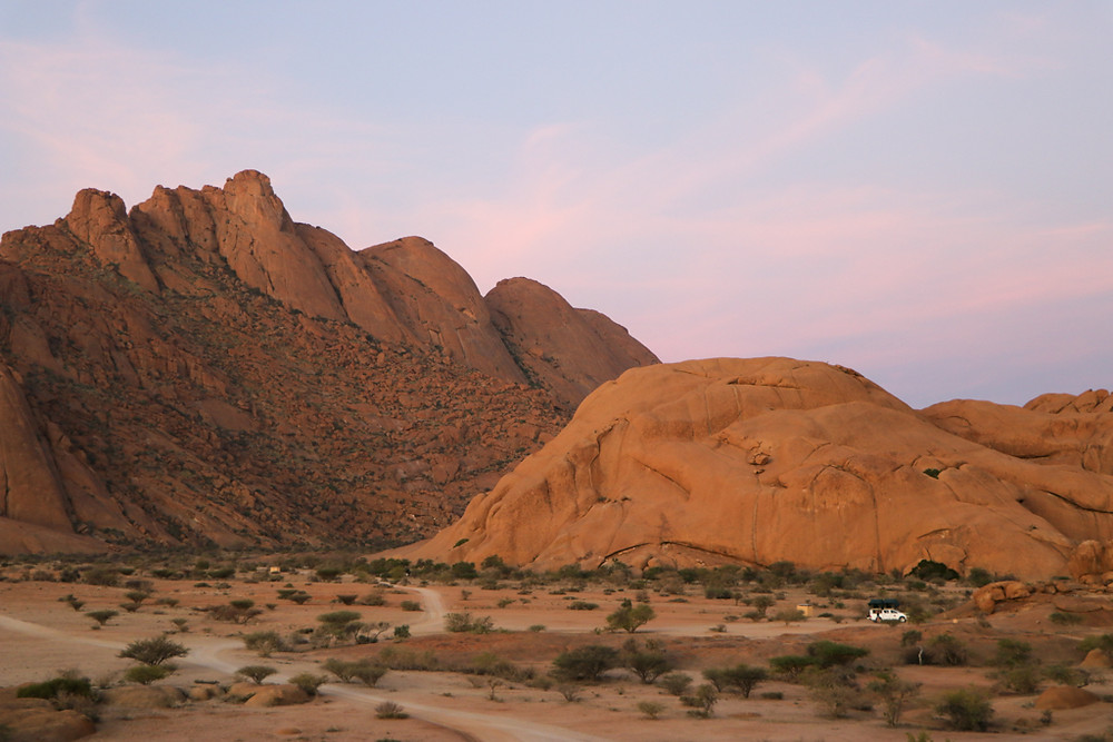 Spitzkoppe is a must-see destination of Namibia