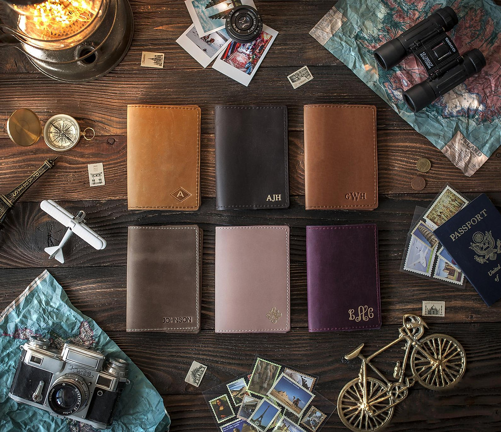go somplace completely different with this passport holder