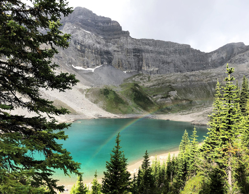 Galatea hike in Kananaskis County