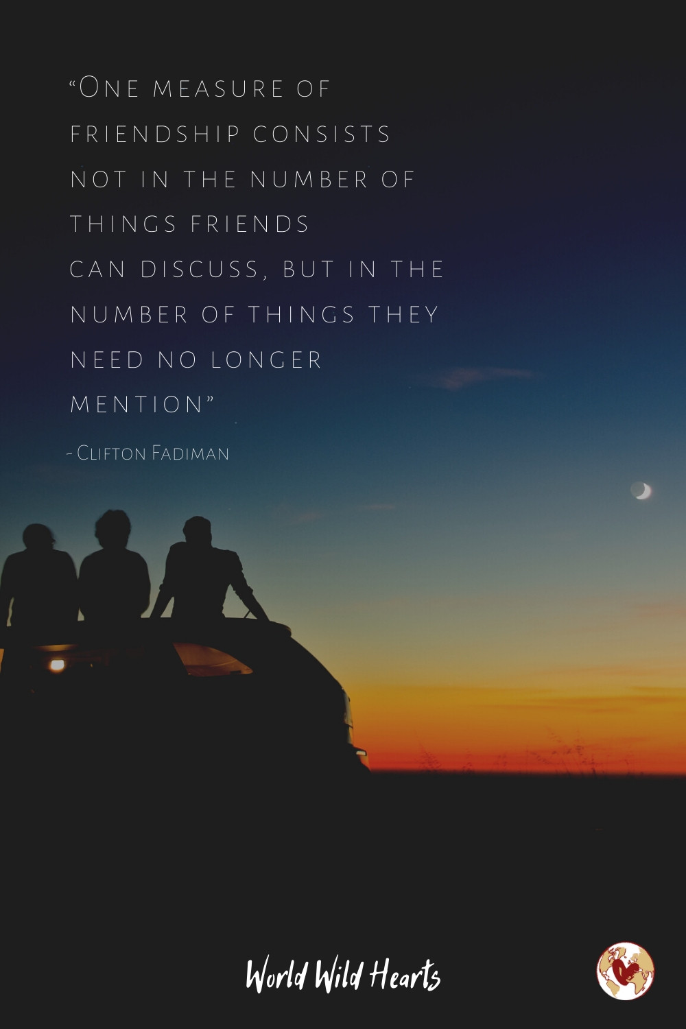 long quote on travel with friends