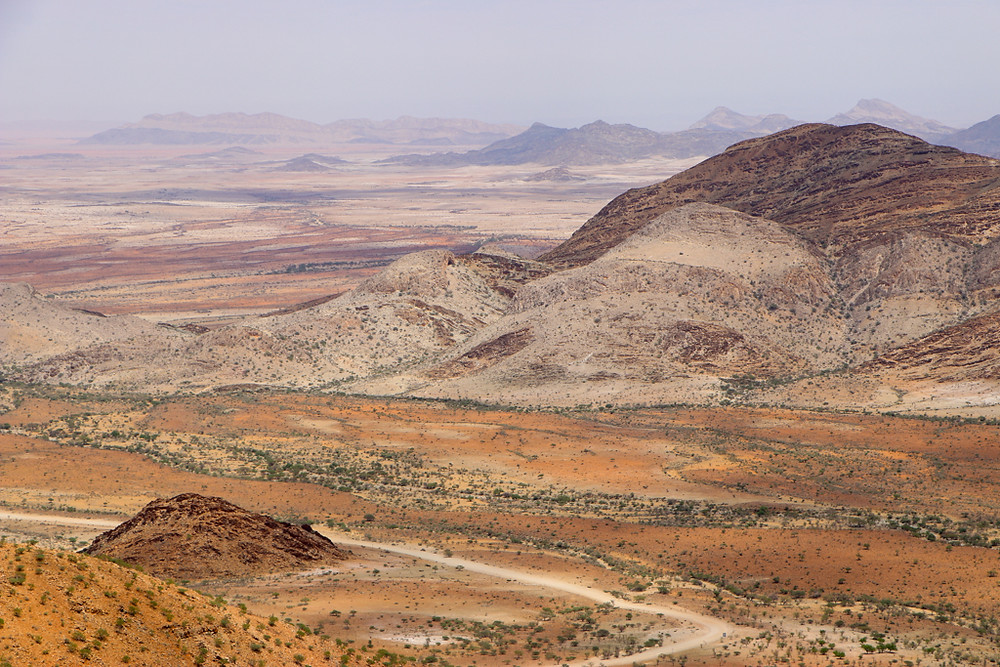 Spreetshoogte Pass is the first stop along the 7 day itinerary in Namibia