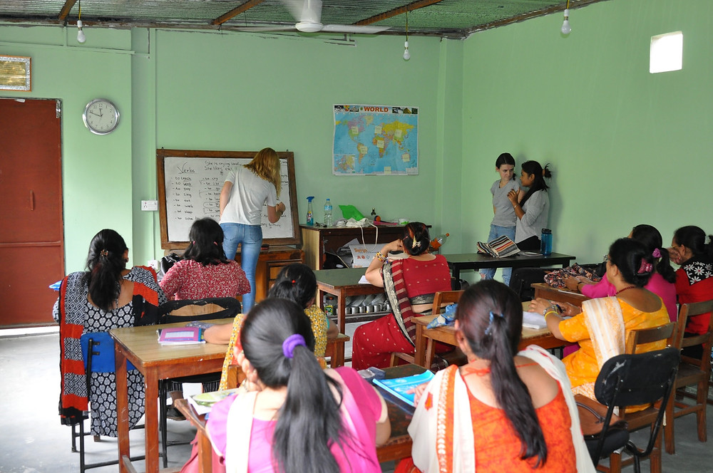 Volunteering in Nepal at the Women Centre