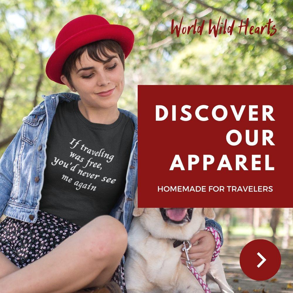 short travel quote shirt
