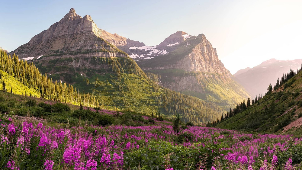 Best national park in US for mountain views