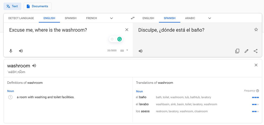 Google Translate is a great travel app when you don't speak the language