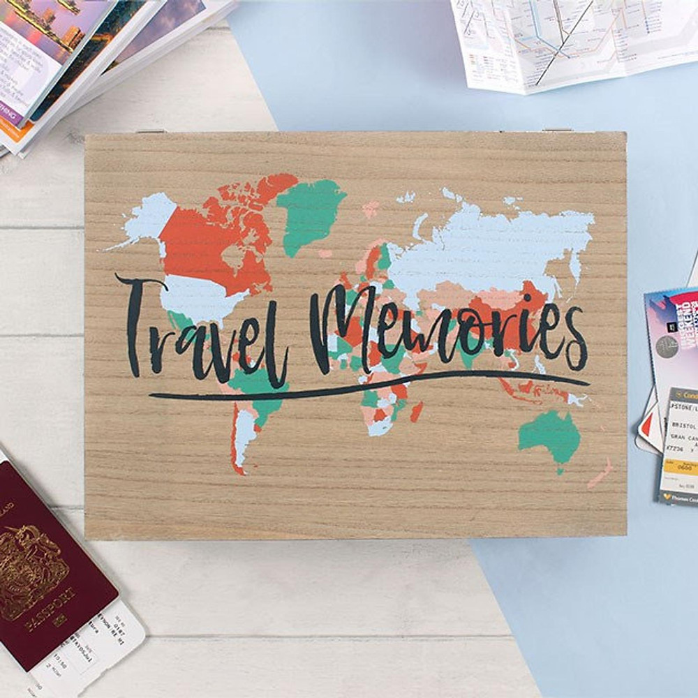 keep your happy travel memories in this box