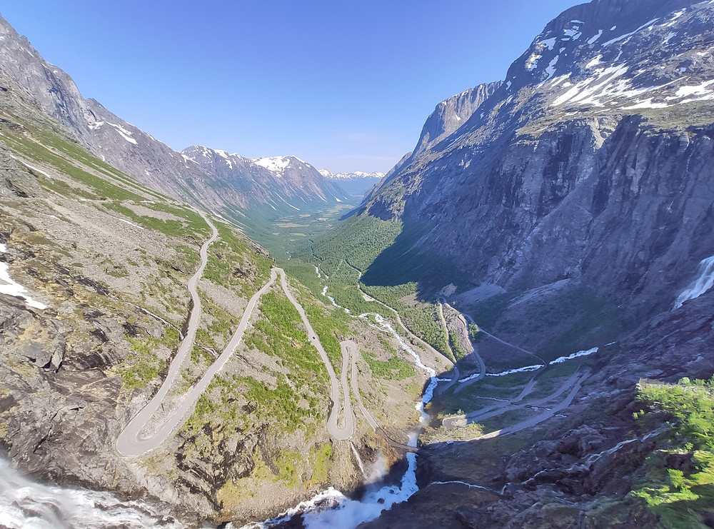 Famous road in Western Road is Trollstigen