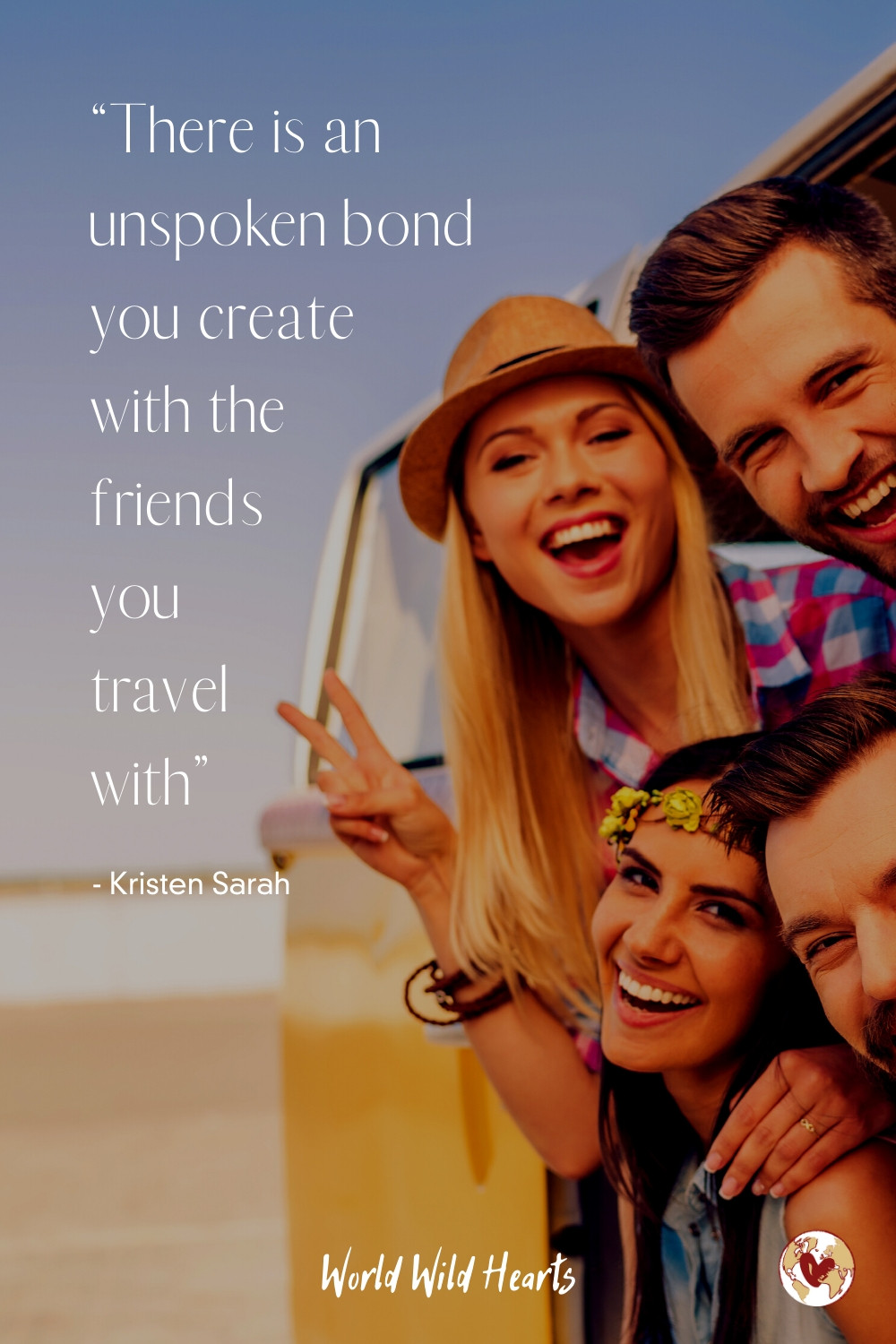 Travel quote with friends appreciation