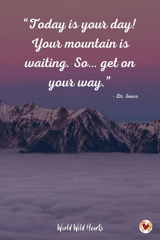 Dr. Seuss adventure quote