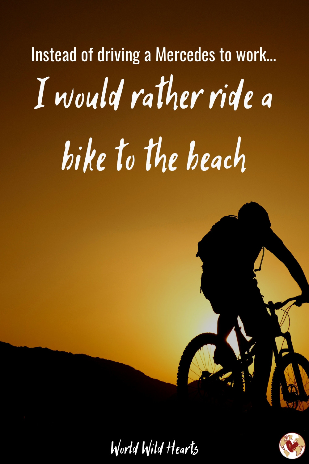 I would rather be quote