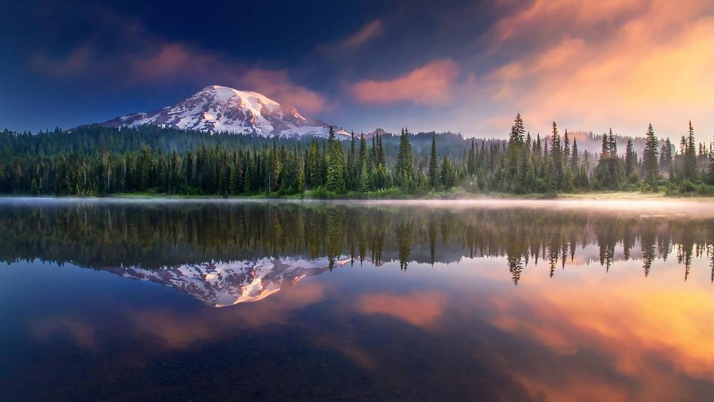 Mount Rainier US National Park