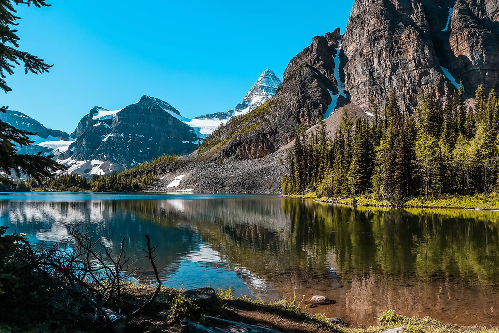 Sunburst Lake and Mount Assiniboine