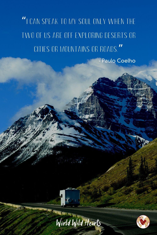 Paulo Coelho road trip quote