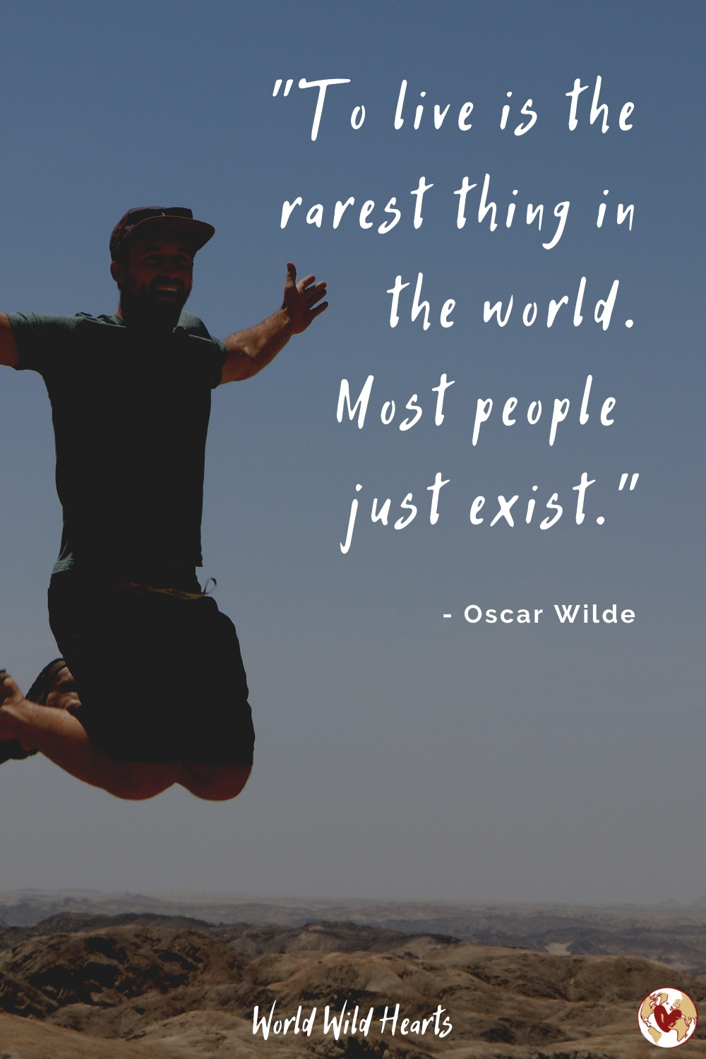 Travel quote by Oscar Wilde
